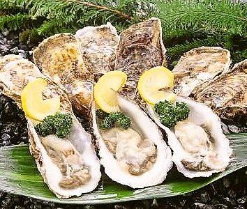 厚岸直送 殻牡蠣 398円(税抜)