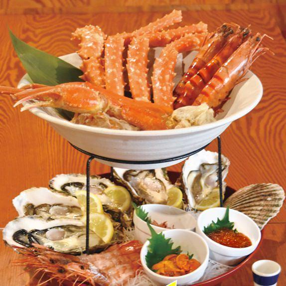 新宿で海鮮を食べるなら居酒屋「丸港水産新宿店」