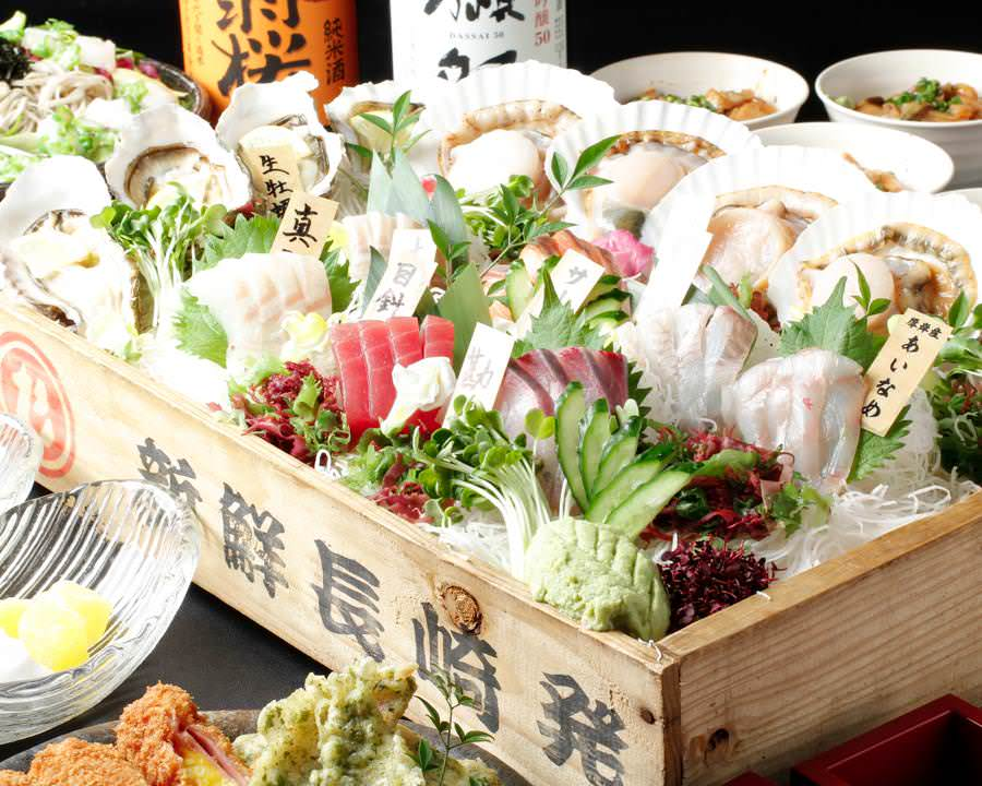 新宿で新鮮な海鮮を味わうなら【丸港水産 新宿三丁目店】へ